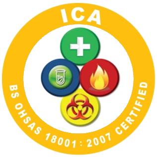 Logo ICA OHSAS 18001